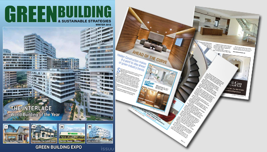 Green Building and Sustainable Strategies Magazine