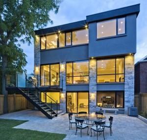 modern custom home builders toronto heidan construction